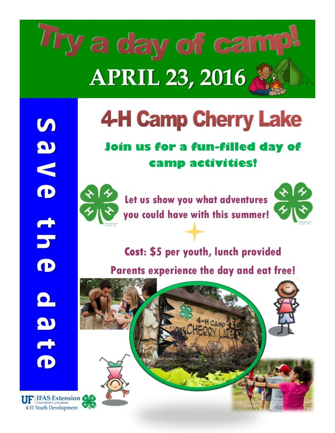 Try A Day at Camp 2016